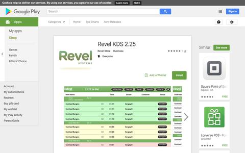 Revel KDS 2.25 - Android Apps on Google Play