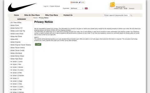 Screenshot of Privacy Page edinburghcityproperties.co.uk - Privacy Notice : Wholesale Top Quality Nike Free Run Shoes - Cheap Nike Free Trainers Cheap Outlet Online - captured May 15, 2017