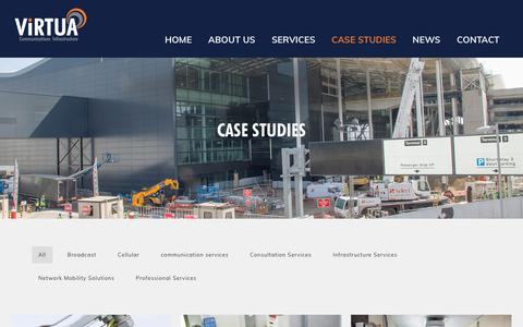 Screenshot of Case Studies Page virtua.uk.com - Case Studies | Virtua UK - captured Oct. 18, 2018