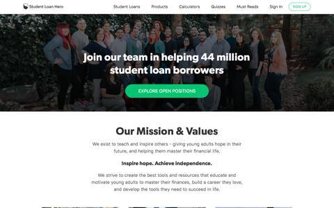 Careers | Student Loan Hero
