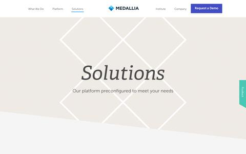 We Build Customer Experience Management Solutions | Medallia