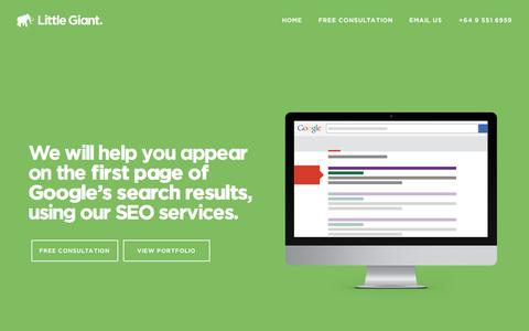 Little Giant - SEO Auckland | Search engine optimisation
