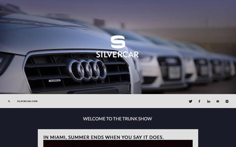 Screenshot of Blog silvercar.com - Silvercar - captured March 30, 2016