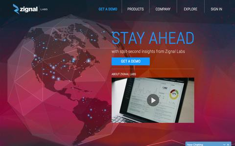 Zignal Labs: Split-Second, Cross Media Analytics Platform Zignal Labs