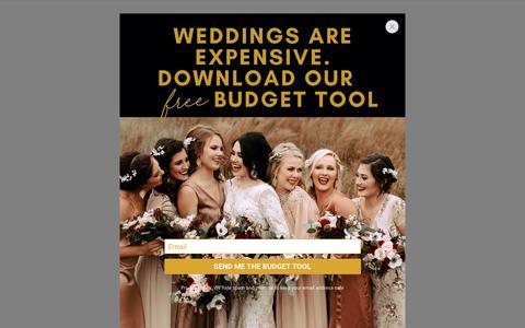 Screenshot of Login Page junebugweddings.com - Login | Junebug Weddings - captured Jan. 18, 2020