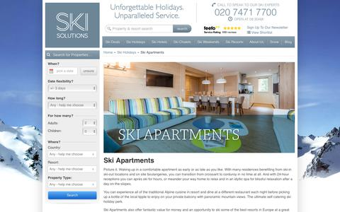 Ski Apartments | Ski Solutions