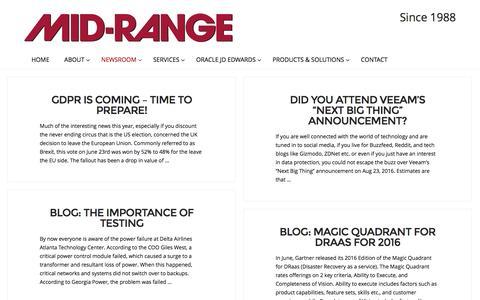 Screenshot of Blog midrange.ca - Blog | Mid-Range - captured Nov. 28, 2016