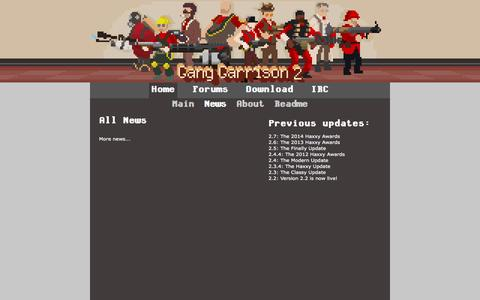 Screenshot of Press Page ganggarrison.com - Gang Garrison 2 - captured Nov. 4, 2014
