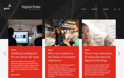Digital Pulse - Disruption, Innovation and Industry Change