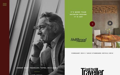 Screenshot of Press Page thegreenwichhotel.com - Press « The Greenwich Hotel / New York / TriBeCa The Greenwich Hotel / New York / TriBeCa - captured Aug. 15, 2015