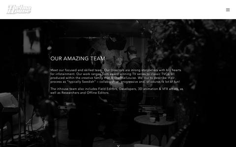 Screenshot of Team Page thelmalouise.se - TEAM - Thelma/Louise - captured Aug. 16, 2016
