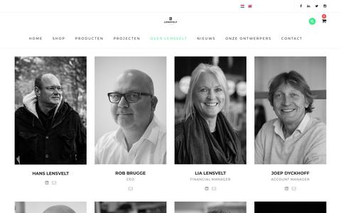 Screenshot of Team Page lensvelt.nl - Team - Lensvelt Contract Furniture - captured Sept. 28, 2018