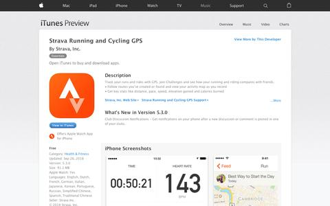 Strava Running and Cycling GPS on the App Store