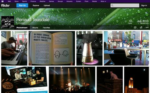 Screenshot of Flickr Page flickr.com - Flickr: 1-2-PUNCH's Photostream - captured Oct. 27, 2014