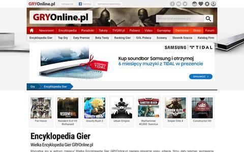 Encyklopedia Gier | GRYOnline.pl