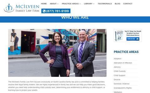 About Us | McIlveen Family Law Firm