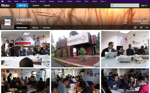 Screenshot of Flickr Page flickr.com - Flickr: iceaddis' Photostream - captured Oct. 23, 2014