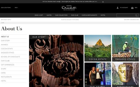 Screenshot of About Page hotelchocolat.com - About Us - Find Out About Hotel Chocolat - captured Feb. 17, 2017