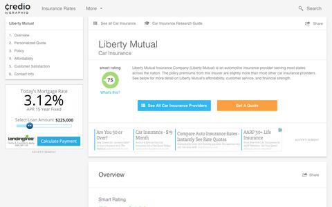 Liberty Mutual Car Insurance | Quotes, Reviews & Ratings
