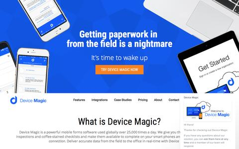 Mobile Forms from Device Magic | Data Collection for Mobile Devices