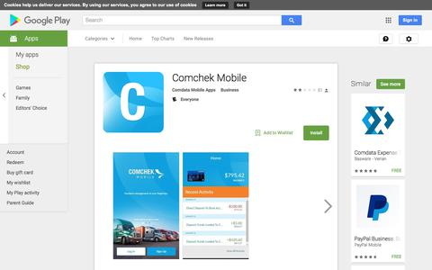 Comchek Mobile - Android Apps on Google Play
