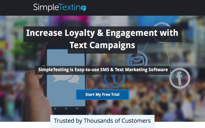 SimpleTexting SMS Marketing Software