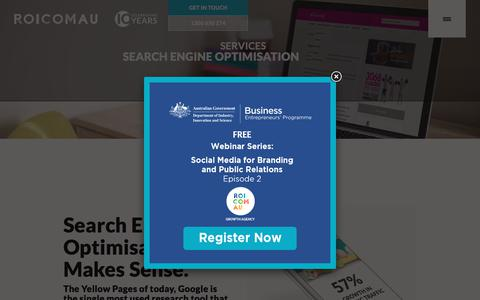 Search Engine Optimisation | Australian SEO | ROI.COM.AU