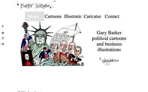 Political Cartoons and Illustrations - Gary Barker Illustration