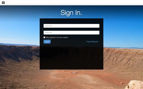 Screenshot of Login Page drgok.com - Delaware Resource Group :: Login - captured Jan. 22, 2016