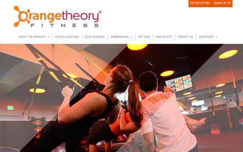 Screenshot of Privacy Page orangetheoryfitness.com - Orangetheory Fitness > Privacy Policy - captured Jan. 8, 2016