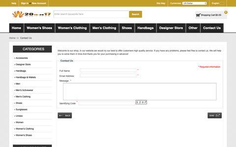 Screenshot of Contact Page killcrestservices.co.uk - Contact Us : Online Sales Men Salvatore Ferragamo 'Trekking' Sneakers - captured Oct. 15, 2018