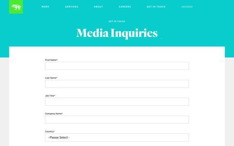 Contact Us | Media | frog