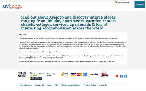 Screenshot of About Page avigogo.co.uk - About Us - captured Sept. 19, 2014