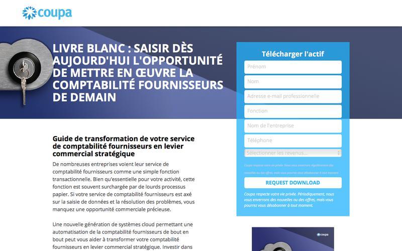 Livre blanc : Saisir dès aujourd'hui l'opportunité de mettre en œuvre la comptabilité fournisseurs de demain