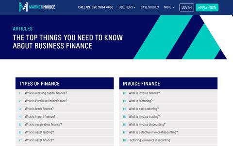 Knowledge Base   MarketInvoice
