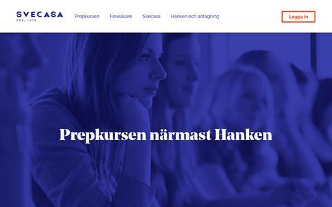 Screenshot of Home Page svecasa.fi - Frontpage - Svecasa - captured Dec. 6, 2016