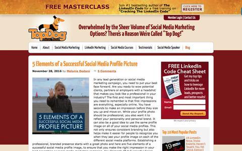 Social Media Marketing Blog; Melonie Dodaro & Top Dog Social Media