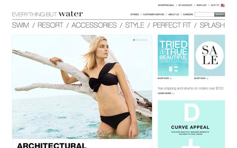 Everything But Water - Women's Designer Swimwear – Swimsuits, Cover Ups, Resortwear and Accessories
