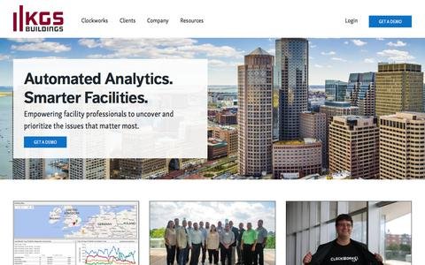KGS Buildings   Automated diagnostics and building performance management software and services