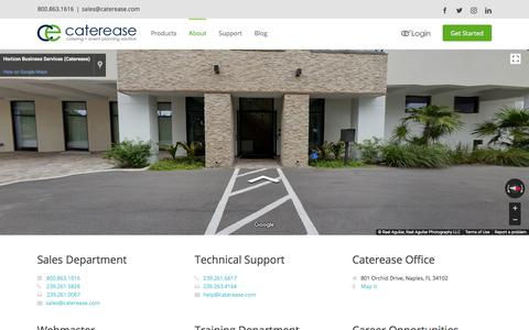 Contact Us | Caterease