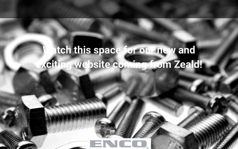 Screenshot of Home Page enco.co.nz - Home - ENCO - captured Aug. 7, 2017