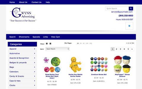 Screenshot of Team Page gwynnadv.com - Gwynn Advertising - People - captured May 24, 2016