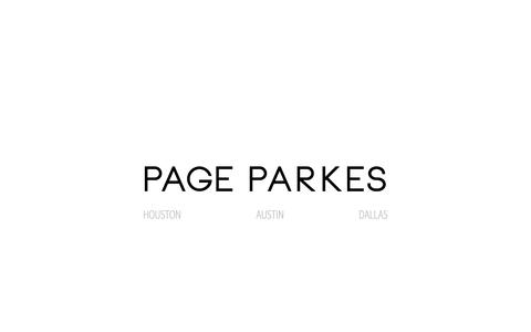 Screenshot of Home Page pageparkesagency.com - Page Parkes Model Agency - captured Oct. 1, 2014