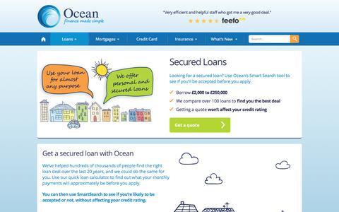 Secured Loans | Ocean Finance®