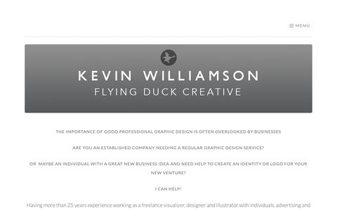 Screenshot of About Page flyingduckcreative.co.uk - About | Flying Duck Creative - captured Oct. 10, 2018