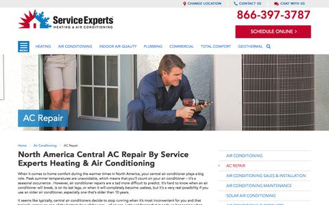 North America Central AC Repair | Service Experts