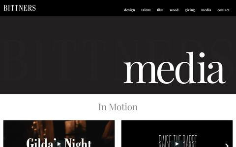 Screenshot of Press Page bittners.com - Media - Bittners - captured Nov. 13, 2018