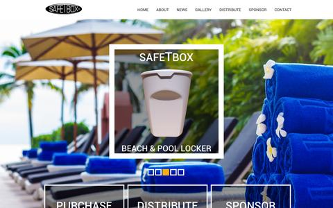 SafeTbox - The Original Beach Locker - Keep Valuables Safe at the beach or pool