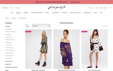 Printed Dresses | Free People