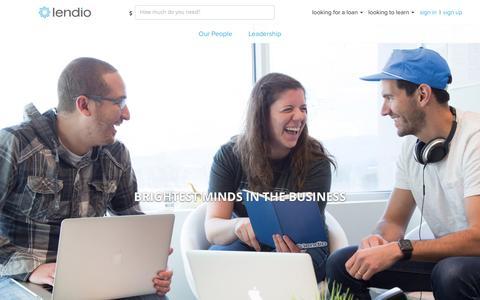 Screenshot of Team Page lendio.com - Lendio Team   Management Team   Lendio - captured May 24, 2017